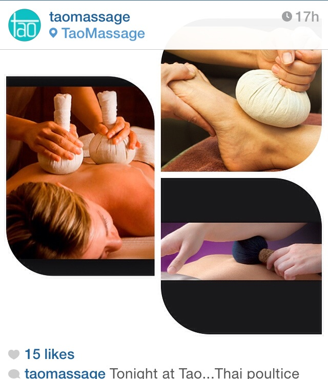 Thai poultice massage at TAO Asbury Park NJ