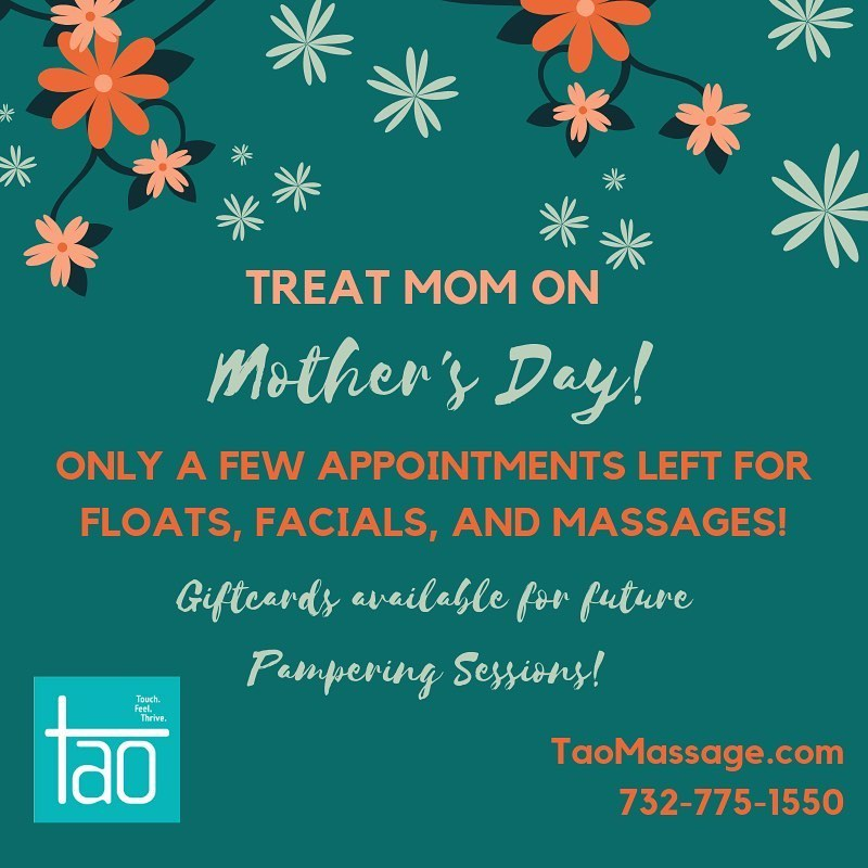 massage Mother's Day Asbury Park NJ